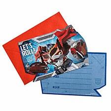 Transformer Prime Invitation Card
