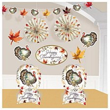 Classic Thanksgiving Room Decoration Kit