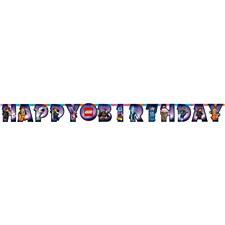 The Lego Birthday Banner