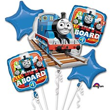 Thomas And Friends Balloon Bouquet