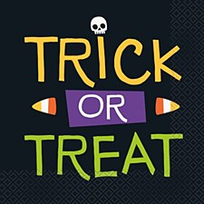 Tick Or Treat Lunch Napkin