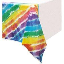 Tie-Dye Tablecover 54in x84in