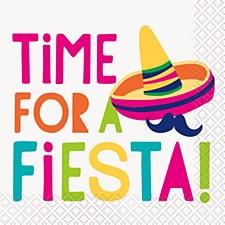 Time For Fiesta Bev. Napkin