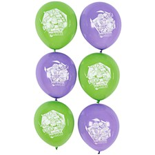 Teenage Mutant Ninja Turtles Printed Latex Balloons