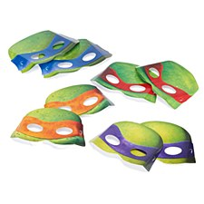 Teenage Mutant Ninja Turtles Masks - Paper