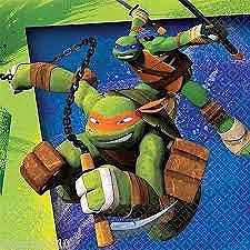 Teenage Mutant Ninja Turtles Beverage Napkins 16ct