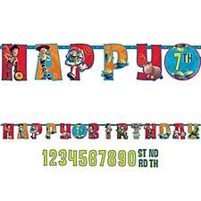 Toy Story Jumbo Letter Banner Kit