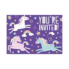 8 Unicorn Invitations