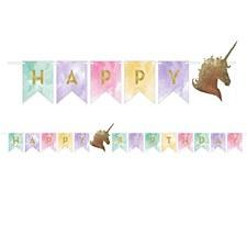 Unicorn Sparkle Pennat Banner