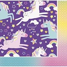 Unicorn Bev. Napkin