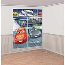 Cars 3 Wall Decorating Kit