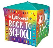 "15""Ombre Back To School Cubez"
