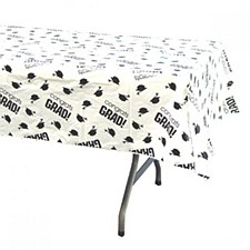 Plastic Tablecover White