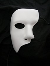 White Phantom Mask