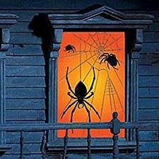 WINDOW SILHOUETTE SPIDER