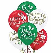 Christmas Latex Balloon