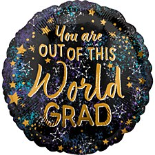 18' You Are Out Of This World Grad