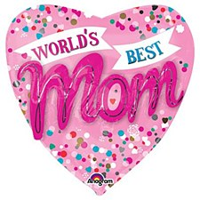 World's Best Mom 3D effect