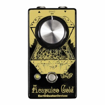"""EarthQuaker Devices """"Acapulco Gold"""" Power Amp Distortion Effects Pedal"""
