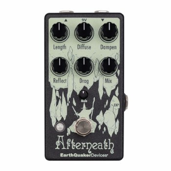 """EarthQuaker Devices """"Afterneath"""" 'Enhanced Otherworldly Reverberator' Effects Pedal"""