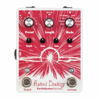 "EarthQuaker Devices ""Astral Destiny"" Octave Reverb Effects Pedal"