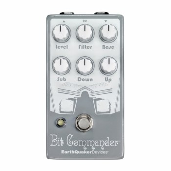 """EarthQuaker Devices """"Bit Commander"""" Analog Octave Synth Effects Pedal"""