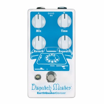 """EarthQuaker Devices """"Dispatch Master"""" Digital Delay & Reverb Effects Pedal"""