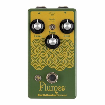 "EarthQuaker Devices ""Plumes"" Analog Overdrive Effects Pedal"