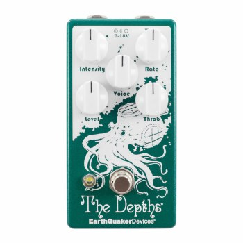 """EarthQuaker Devices """"The Depths"""" Modulation Effects Pedal"""