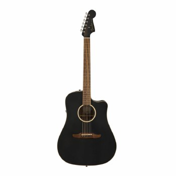 Fender California Series Redondo Special Guitar Matte Black with Gig Bag