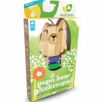 Green Tones Papa Bear