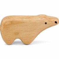 Green Tones Polar Bear Shaker
