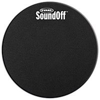 "Evans 6"" Sound Off Tom Mute"