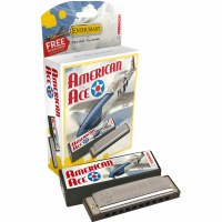 Hohner American Ace Harmonica G