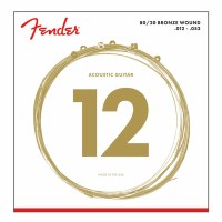 Fender Bronze Acoustic Strings Ball End Light