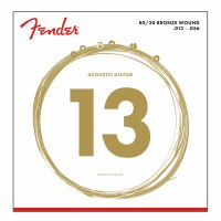 Fender Bronze Acoustic Strings Ball End Custom Medium