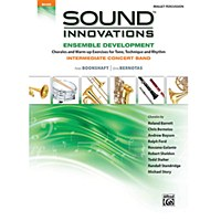 Alfred's Sound Innovations Book for Intermediate Concert Band Mallet