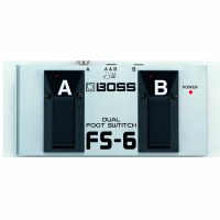 Footswitch Boss Dual FS-6
