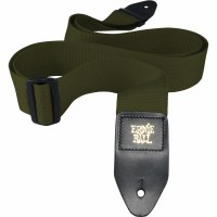Ernie Ball Olive Polypro Guitar Strap