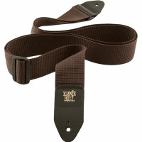 Ernie Ball Brown Polypro Guitar Strap