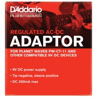 power adapter 9V DAddario