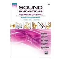 Alfred's Sound Innovations for Advanced Concert Band Book 4 Flute Second