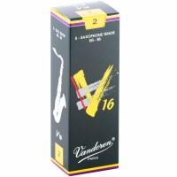 Vandoren 5 Pack V16 Tenor Saxophone Reeds Size #2 (SR722)