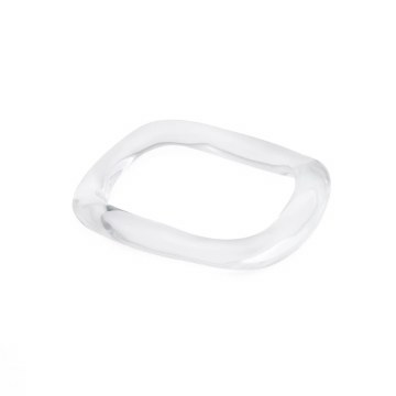Alexis Bittar Liquid Lucite Wavy Bangle