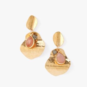 Chan Luu Pink Moonstone Earrings