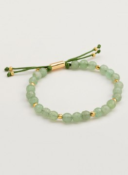 Gorjana Power Gemstone Beaded Bracelet Aventurine