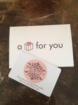 Baehr Feet $100 Gift Card