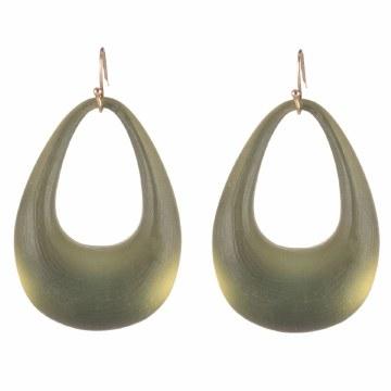 Alexis Bittar Sage Hoop Earrings