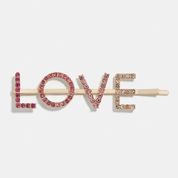 BaubleBar LOVE Kelly Hair Pin