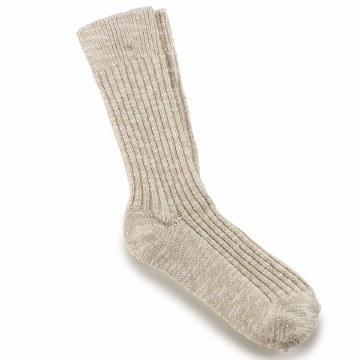 Birkenstock Men Socks Beige Large